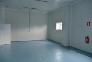 Pavimento de resina epoxy multicapa